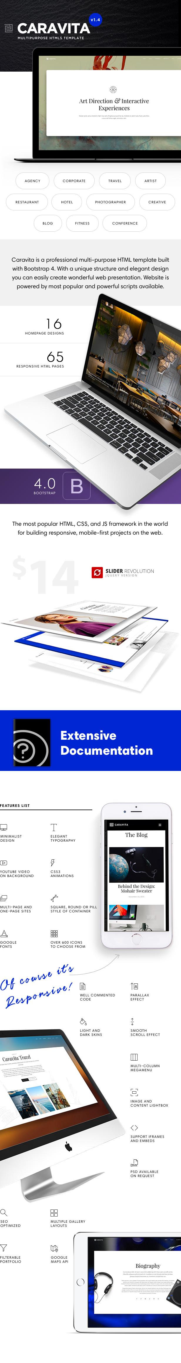 Caravita - Multipurpose HTML5 Template - 1